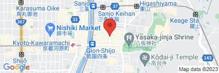 地図 cafe&shop 祇園359