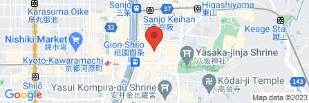 地図 Next Garden 祇園