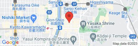 地図 京都花街国民健康保険組合