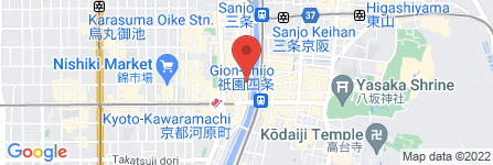 地図 本串家物語 先斗町店