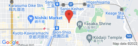地図 しみじみ 祇園店