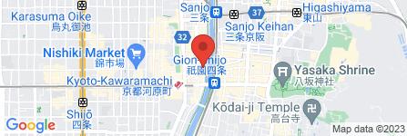 地図 京都豆八