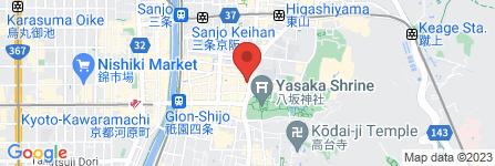 地図 祇園食道園