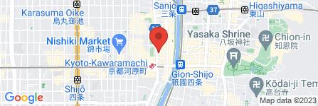 地図 とりひめ 京都河原町店