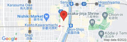地図 株式会社日邦レンタカー河原町営業所
