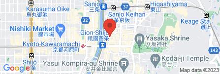地図 お茶屋 丸八