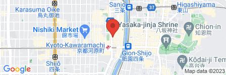 地図 たこ焼き 京の華