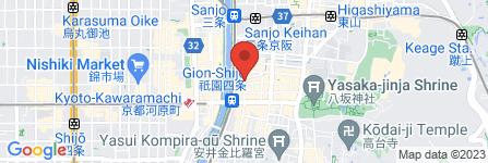 地図 ファミリーマート祗園白川店