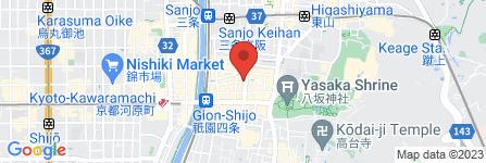 地図 マーキュリー谷口酒店