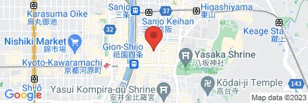 地図 GIAGGIOLO祇園