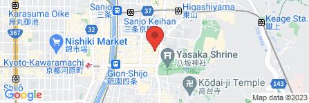 地図 衹園 GL