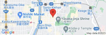 地図 Kitchen Bar Charmi