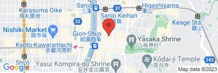 地図 Pagong 祇園店
