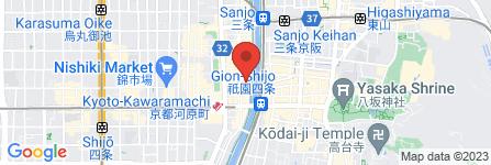 地図 亀八 別館