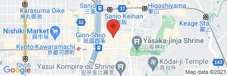 地図 祇園かわもと
