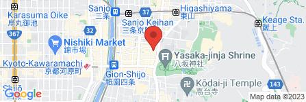 地図 花りん 祇園店