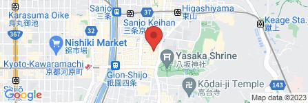地図 花りん 祗園店