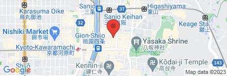 地図 祇園ふわり