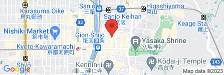 地図 祇園 葵