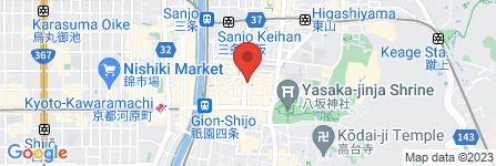 地図 スコルピオーネ祇園