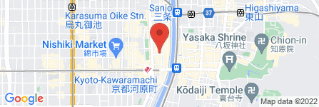 地図 先斗町自転車駐車場