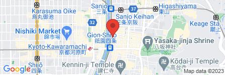 地図 料亭 京新山