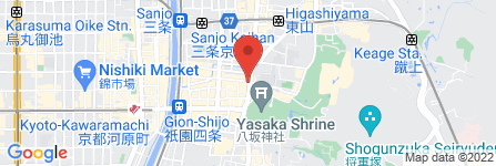 地図 ギオン福住