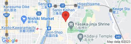 地図 祇をん はま村