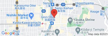 地図 京都 華心