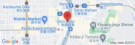 地図 岩焼先斗町ことし