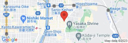 地図 レンタル着物 寧々-nene-