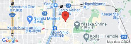 地図 天下一品 広東料理 こぼれ華