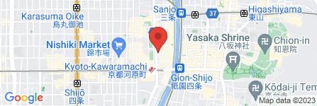 地図 ハウスクエスト 四条河原町店