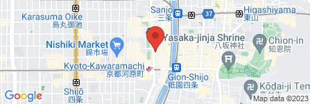 地図 ソフトバンク 四条河原町