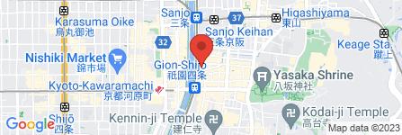 地図 中華ダイニング饗十膳