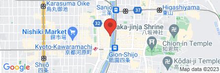 地図 日本酒バー 華弥ぎ
