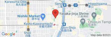 地図 かっぱ寿司 京のとんぼ店