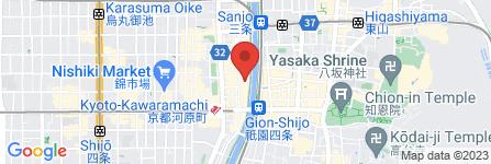地図 先斗町 古葉