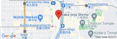 地図 KYOTO GIRL´S CLUB
