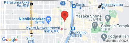 地図 イソップ河原町店