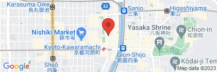 地図 ファイン 四条河原町