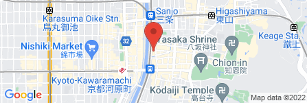 地図 Magic Bar 猪虎亭