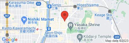 地図 ハラール焼肉成田屋 祇園店