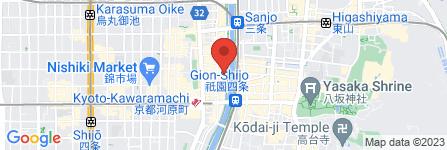 地図 スナック琥珀