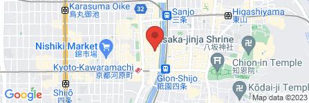 地図 京野菜✕日本酒 Bar Pick