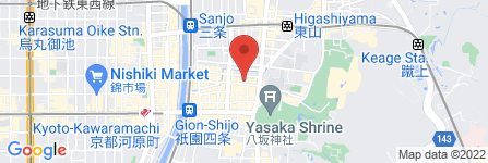 地図 祇園新橋 近幸