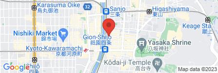 地図 賢祥堂美術店