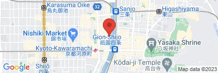 地図 先斗町ますだ