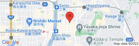 地図 祇をん 玲奈