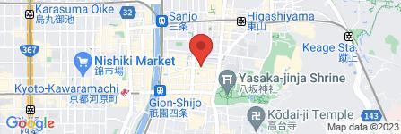 地図 割烹 なか川 本店